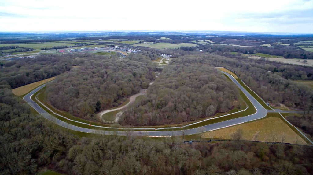 drone aerial photo brands hatch circuit